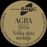 Velika zlata medalja AGRA 2016