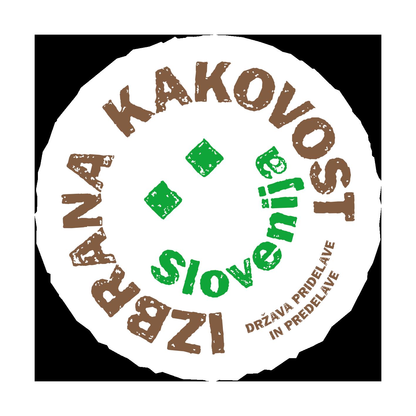 Logotipi izbrana kakovost Slovenije