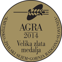 Fair AGRA 2014 Grand gold medal