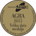 Fair AGRA 2015 Gold medal