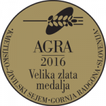 Fair AGRA 2016 Grand gold medal