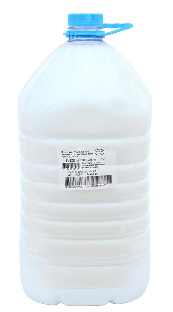 Pomurske mlekarne Pasterizirano mleko
