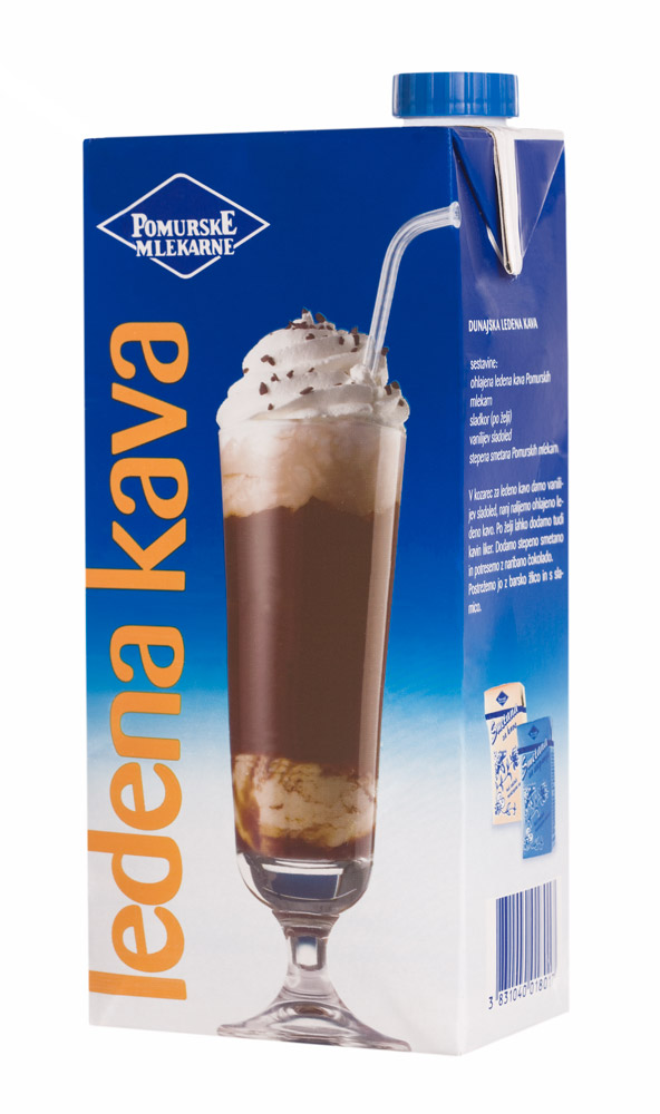 Pomurske mlekarne Ledena kava 1l