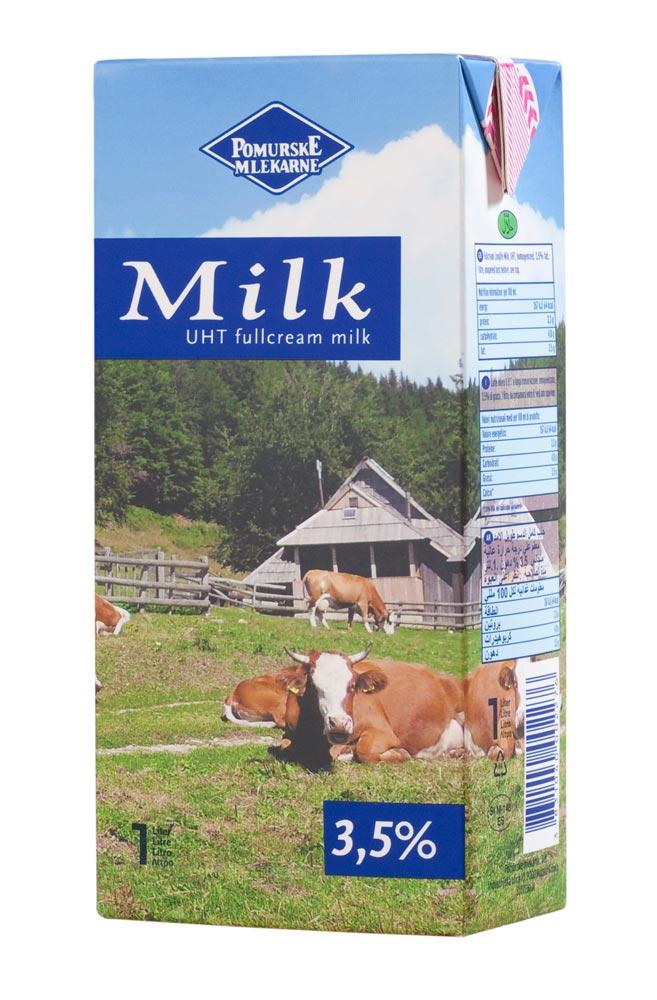 Milk 3,5% fat