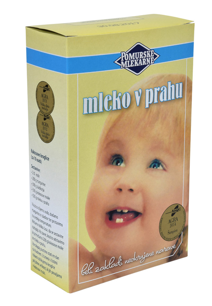 Pomurske mlekarne Mleko v prahu
