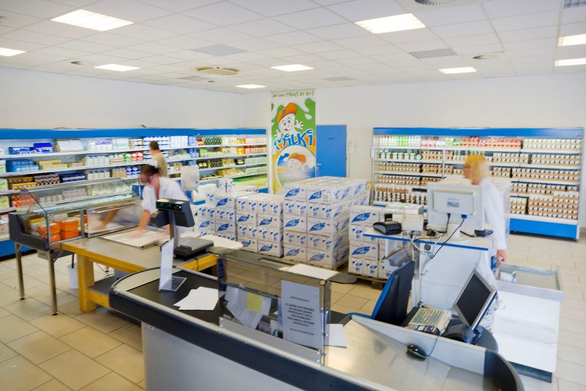 Pomurske mlekarne Industrijska prodajalna Murska Sobota
