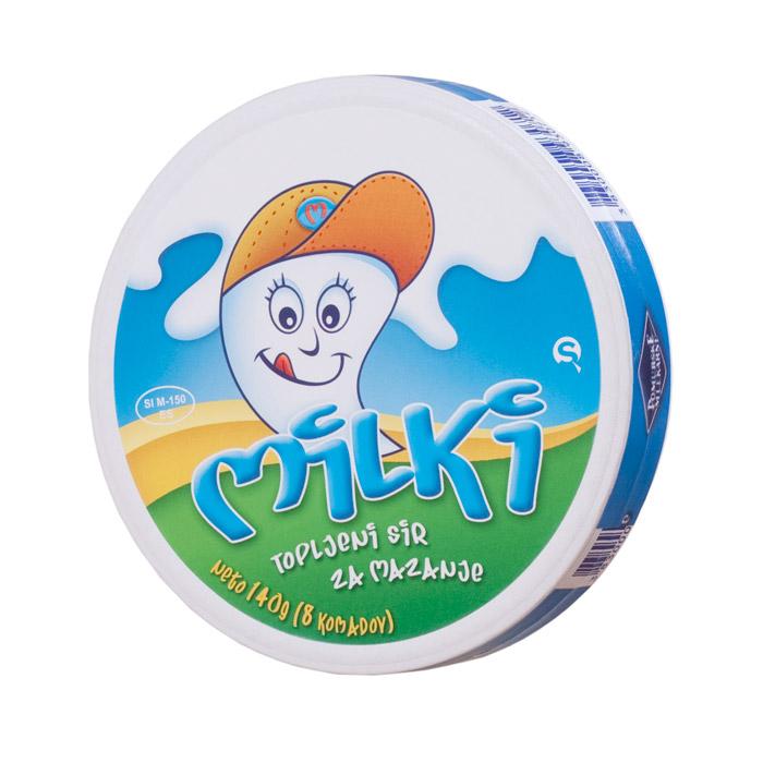 Pomurske mlekarne Milki topljeni sir za mazanje