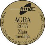 Sejem AGRA 2015 Zlata medalja