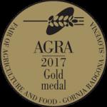 Fair AGRA 2017 Gold medal