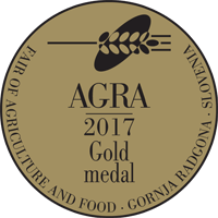 Fair AGRA 2017 Gold medal