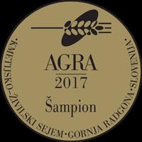 Šampion na sejmu Agra 2017