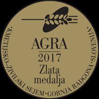Sejem Agra 2017 Zlata medalja