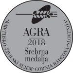 AGRA 2018 Srebrna medalja