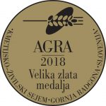 Fair AGRA 2018 Grand gold medal