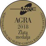 Sejem AGRA 2017 Velika zlata medalja