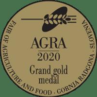 Agra 2020 Grand gold medal