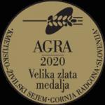 Sejem AGRA 2020 Velika zlata medalja