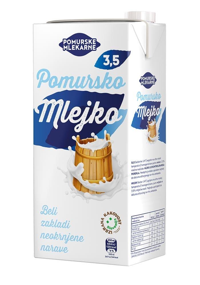 Milk Pomursko mlejko
