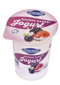 Sadni jogurt gozdni sadeži 180g