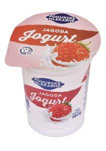 Sadni jogurt jagoda 180g