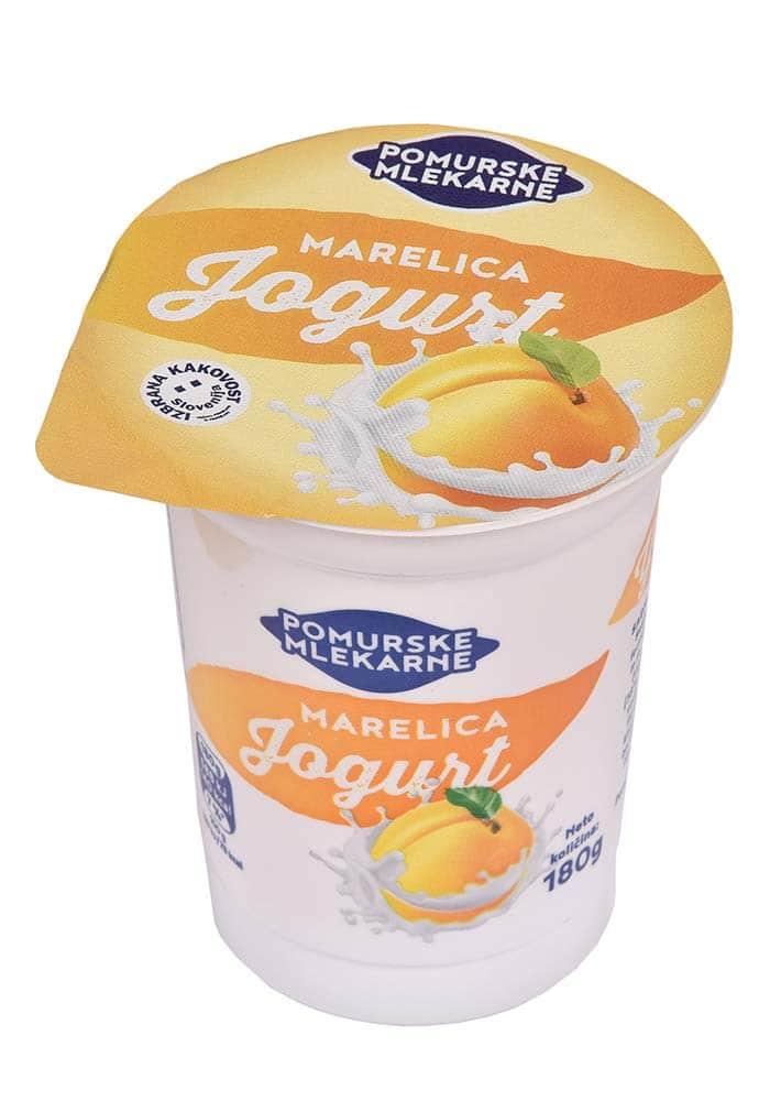 Sadni jogurt marelica 180g