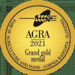 Fair AGRA 2021 Grand Gold medal