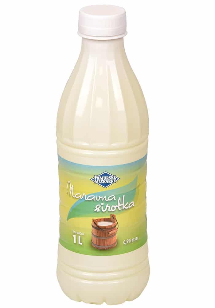 Naravna sirotka Pomurskih mlekarn