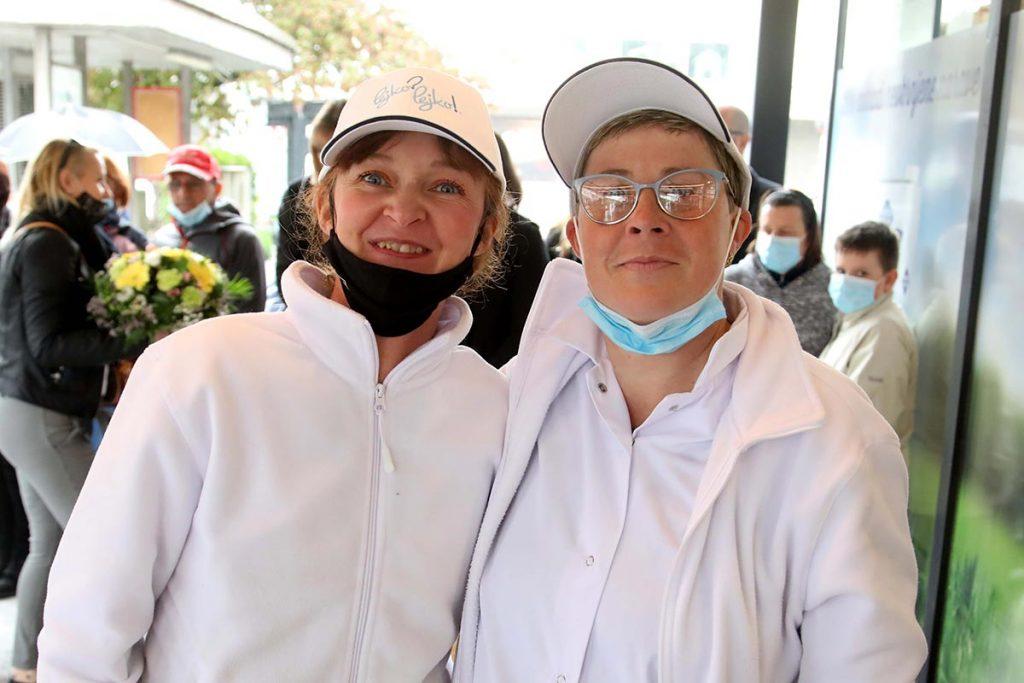 Otvoritev industrijske prodajalne Pomurske mlekarne na Jesenicah