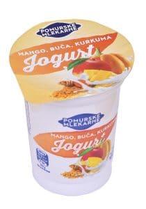 Sadni jogurt mango, buča, kurkuma, 180g