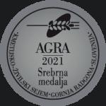 Srebrna medalja na sejmu AGRA 2021