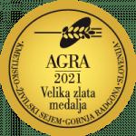 Velika zlata medalja na sejmu AGRA 2021
