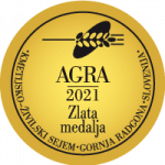 Zlata medalja na sejmu AGRA 2021